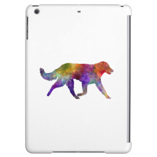 Kuvasz in watercolor 2 iPad air case