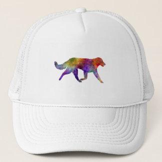 Kuvasz in watercolor 2 trucker hat