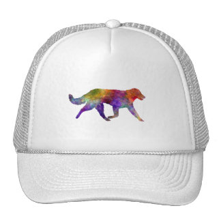 Kuvasz in watercolor 2 trucker hat