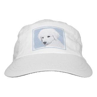 Kuvasz Painting - Cute Original Dog Art Hat