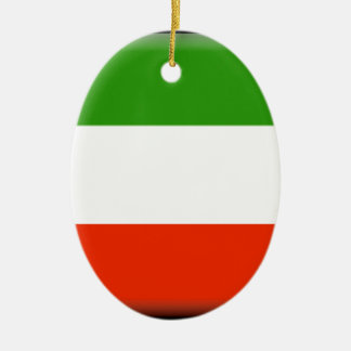 Kuwait Ceramic Oval Ornament