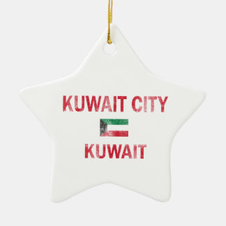 Kuwait City Kuwait Designs Ceramic Star Ornament