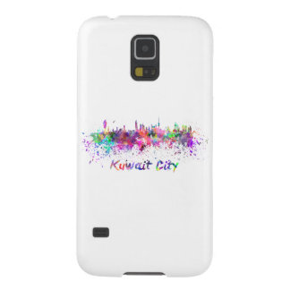 Kuwait City skyline in watercolor Case For Galaxy S5