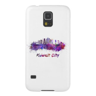 Kuwait City V2 skyline in watercolor Galaxy S5 Cover