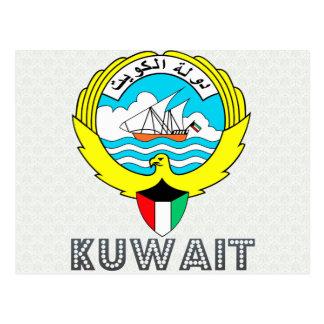 Kuwait Coat of Arms Postcard