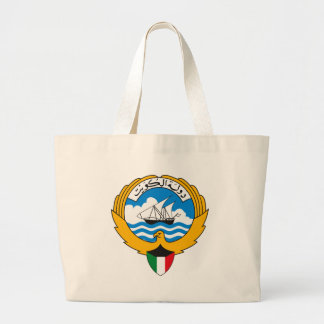 Kuwait Coat of Arms Tote Bag