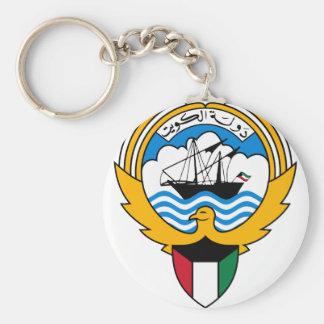 kuwait emblem keychain