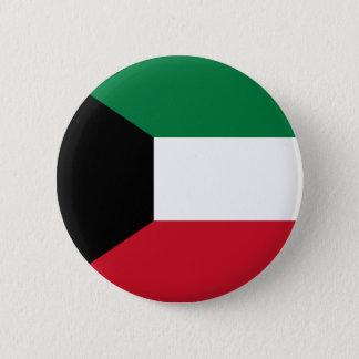 Kuwait Flag 2 Inch Round Button