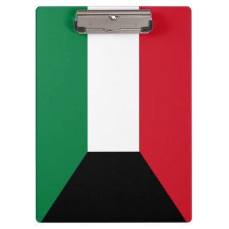 Kuwait Flag Clipboard