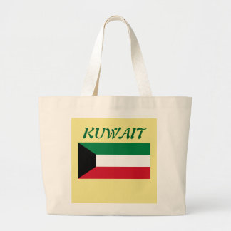 Kuwait Flag Custom Tote Bag