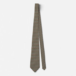 Kuwait Flag Honeycomb Tie
