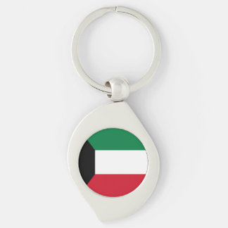 Kuwait Flag Keychain