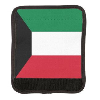 Kuwait Flag Luggage Handle Wrap