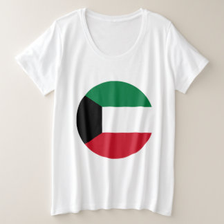 Kuwait Flag Plus Size T-Shirt