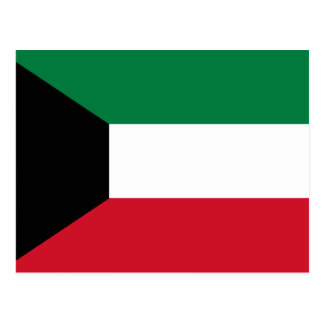 Kuwait Flag Postcard