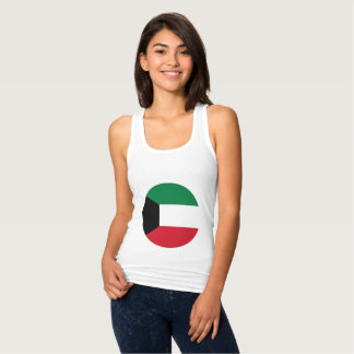 Kuwait Flag Tank Top