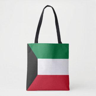 Kuwait Flag Tote Bag