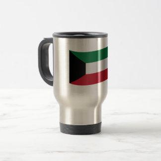 Kuwait Flag Travel Mug