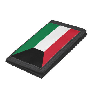 Kuwait Flag Trifold Wallet