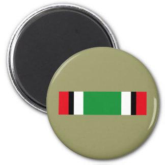 Kuwait Liberation Saudi Ribbon 2 Inch Round Magnet