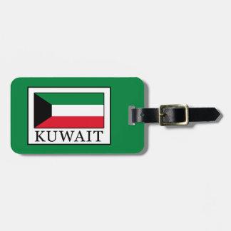 Kuwait Luggage Tag