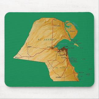 Kuwait Map Mousepad