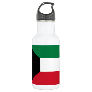 Kuwait National World Flag 532 Ml Water Bottle