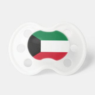 Kuwait National World Flag Pacifier