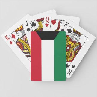 Kuwait National World Flag Playing Cards