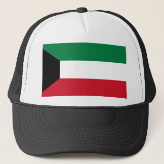 Kuwait National World Flag Trucker Hat