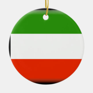 Kuwait Round Ceramic Ornament