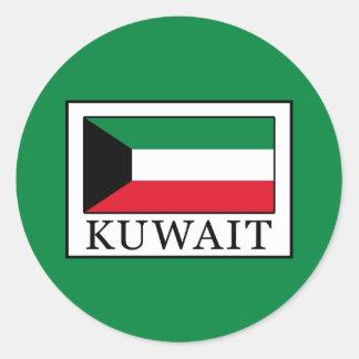 Kuwait Round Sticker