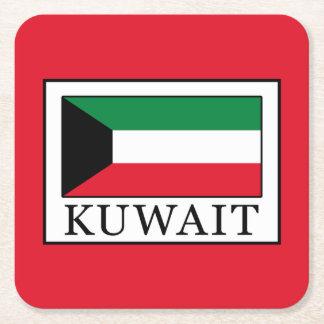 Kuwait Square Paper Coaster