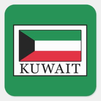 Kuwait Square Sticker