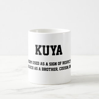 Kuya Coffee Cup