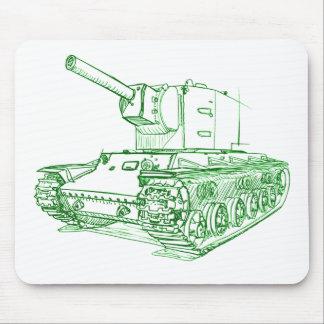 KV2 Kb-2 Tank Russian Mouse Pad