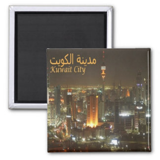 KW - Kuwait - City By Night Magnet