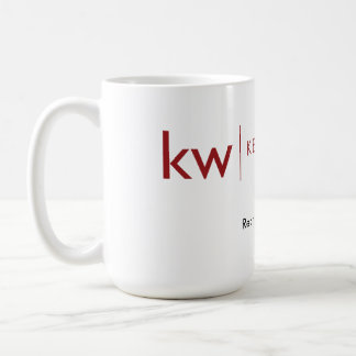 KW re:thing real estate white mug
