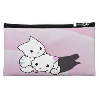Kwaii Cats Cosmetic Bag