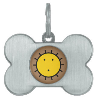kwakiutl sun pet name tag