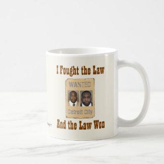 Kwame - I Fought the Law Coffee Mug