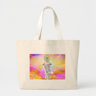 Kwan Yin The Goddess of Compassion Large Tote Bag