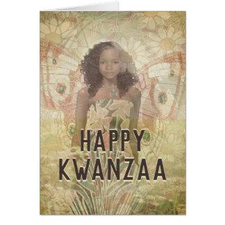Kwanzaa Angel Blessings Card