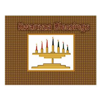 Kwanzaa Blessings Postcard