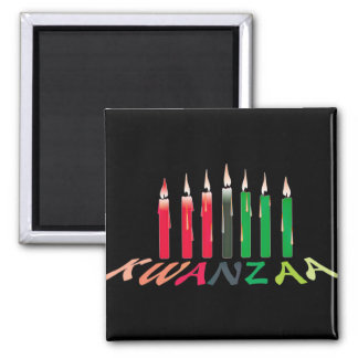 Kwanzaa Candles Magnet