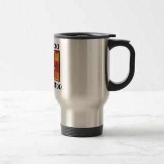 Kwanzaa Celebration boy 15 Oz Stainless Steel Travel Mug