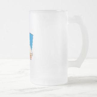 Kwanzaa Celebration Frosted Glass Mug