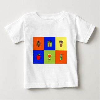 kwanzaa colorblock baby T-Shirt