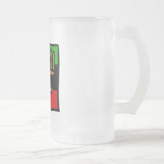 Kwanzaa Corn 16 Oz Frosted Glass Beer Mug