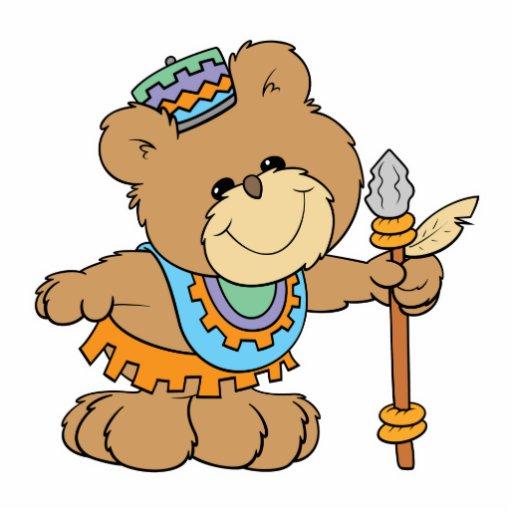 KWANZAA cute teddy bear design Photo Cutouts